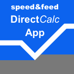 speed&feed DirectCalc App
